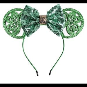 Accessories - St. Patrick's Day Green Mickey Ears Headband